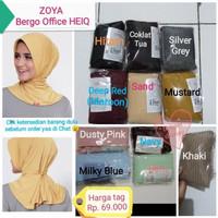 ZOYA Bergo OFFICE HEIQ Original/Hijab kerudung instan/jilbab