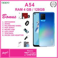 OPPO A54 RAM 4GB ROM 128GB GARANSI RESMI OPPO INDONESIA