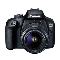 KAMERA CANON EOS 3000D WITH LENSA EF-S 18-55 III KIT (D5) FREE MEMORY