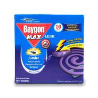 Baygon Max Jumbo Wangi Lavender - Obat Nyamuk Bakar Ungu Pack Dus