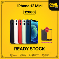 [GARANSI RESMI APPLE] Apple iPhone 12 Mini 128Gb Blue