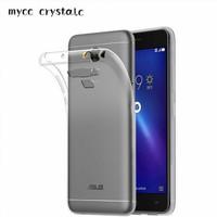 Asus Zenfone 3 Max 5.5 ZC553KL - Clear Soft Case TPU Casing Cover
