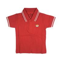 Polo Shirt Anak - Anak Warna Merah Usia 1-9T| P009 - by Little Jergio