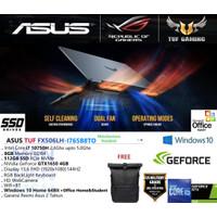 ASUS TUF F15 FX506LH i7-10870H 8GB 512GB GTX1650 4GB W10+OHS