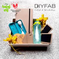 Parsel Ramadhan Berkah Diyfab, Stationary, Cutlery Tumbler Tupperware