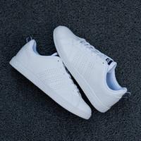 sepatu sneakers termurah adidas neo advantage white list navy