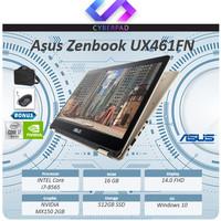 Asus Zenbook Flip 14 UX461FN Touch MX150 2GB i7 8565U 16GB 512ssd W10