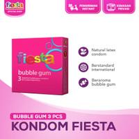 Kondom Fiesta Bubble Gum - 3 Pcs