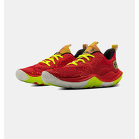 UNDER ARMOUR Spawn 3 CLRSHFT Basketball Shoes - Red