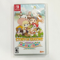 Story of seasons friends of mineral town switch game fisik