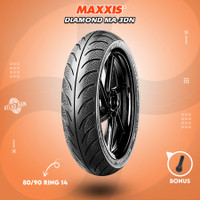 Ban Tubles Motor Matic MAXXIS DIAMOND MA-3DN 80/90 Ring 14
