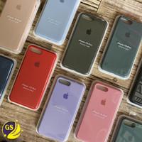 SILICONE CASE ORIGINAL APPLE IPHONE 6 6G 6s 7 8 PLUS BACK COVER - Tulis di Note, Iph 6 6s 6g
