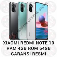Xiaomi Redmi Note 10 4/64 RAM 4GB ROM 64GB GARANSI RESMI
