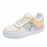 sepatu sneaker wanita AR09 - Kuning, 37