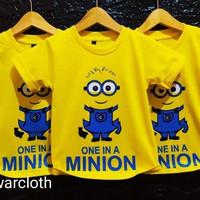 kaos anak distro Minion dan baju anak motif minion