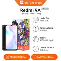 "Xiaomi Official Redmi 9A 2/32GB 6.53"" HD Mi Smartphone AI Face Unlock"
