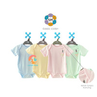 NOVA Baju Kodok Segitiga - Jumper Bayi 0-9 Bulan (Basic Color)