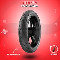 Ban Tubles Motor Bebek CORSA V22 80/90 Ring 17 Tubeless