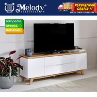 Furniture Meja TV Rak TV Libre TV 160 - WH-MTH
