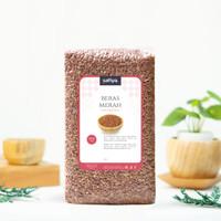 1 Kg Beras Merah Pulen Organik / Beras Merah Diet Organik Premium
