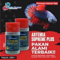 Artemia Golden Supreme Plus repack 10gr / 10 gr gram Asli hemat - 10GR