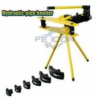 (FE) Alat tekuk pipa bender hydraulic hidrolik 1/2 - 2 inch