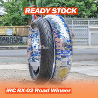 IRC RX-02 Road Winner 110/70-17 120/70-17 Ban Depan R15 R25 CBR Ninja
