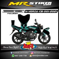 Decal Stiker Fullbody Motor Honda Verza CB Grafis Decal Laminasi Tebal