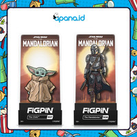 Enamel pin FIGPIN - The Mandalorian and Baby Yoda