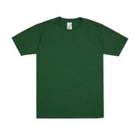 Sipolos Kaos Polos Twotone Lengan Pendek Pria dan Wanita- Dark Green