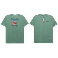 Green Quicksilver T-shirt / Kaos Quicksilver