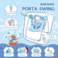 Babydoes Porta Swing Ayunan Bayi Elektrik