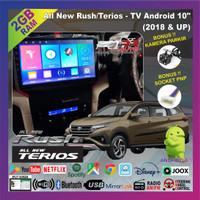 All New Rush 2018-2020 | head unit android 10in (free kamera parkir) - 10 inch