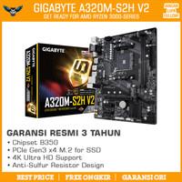MOTHERBOARD AMD GIGABYTE A320M-S2H V2 AM4 mATX