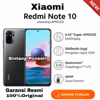 XIAOMI REDMI NOTE 10 4GB+64GB Garansi Resmi