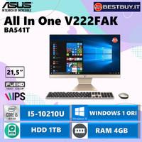 Asus AIO All In One PC V222FAK-BA541T I5-10210U 4GB 1TB WIN10