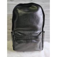 TAs FOSSIL Men Buckner Large Backpack Black Leather