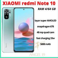 Xiaomi redmi note 10 4/64 GB garansi resmi indonesia