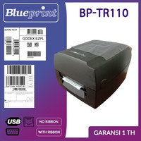 PRINTER BLUEPRINT THERMAL BARCODE (BP-TR110)