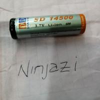 Batre recharge ukuran AA 14500 3.7volt