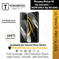 Tokubetsu Xiaomi Poco M2 Series Anti Gores Hydrogel - Screen Protector - M2, Front