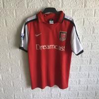 Jersey Arsenal Retro 2000 2001 Bergkamp