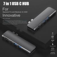 USB Type C Converter Adapter Macbook HUB HDMI OTG Micro SD 7 in 1