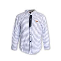 Osella Baju Anak Laki Laki Shirt Stripe White