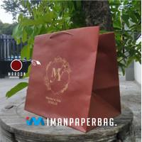 Paper Bag Kotak Nasi/Tas Kertas Kue