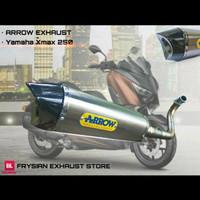 ARROW EXHAUST FULL SYSTEM YAMAHA XMAX 250 X-MAX 250 - Aerox 155 -