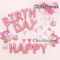 Set paket balon ulang tahun unicorn dekorasi pesta birthday anak pony