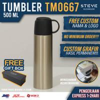 Botol minum stainless termos vacum tumbler mug TM0667 Silver