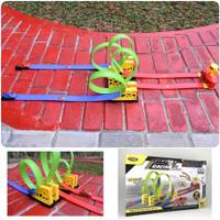 Mainan Track Racing Hot Wheels Multi Loop - Trek Mobil Balap Anak