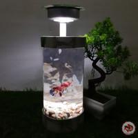 Aquarium Mini Tabung LED Fullset